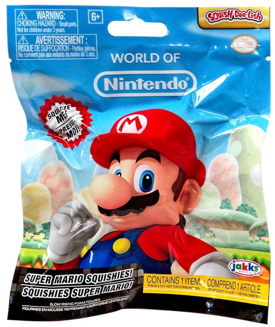 Squish Dee Lish Series 2 : World of Nintendo Squish-Dee-Lish Super Mario Series 2 Mystery Pack Jakks Pacific - ToyWiz
