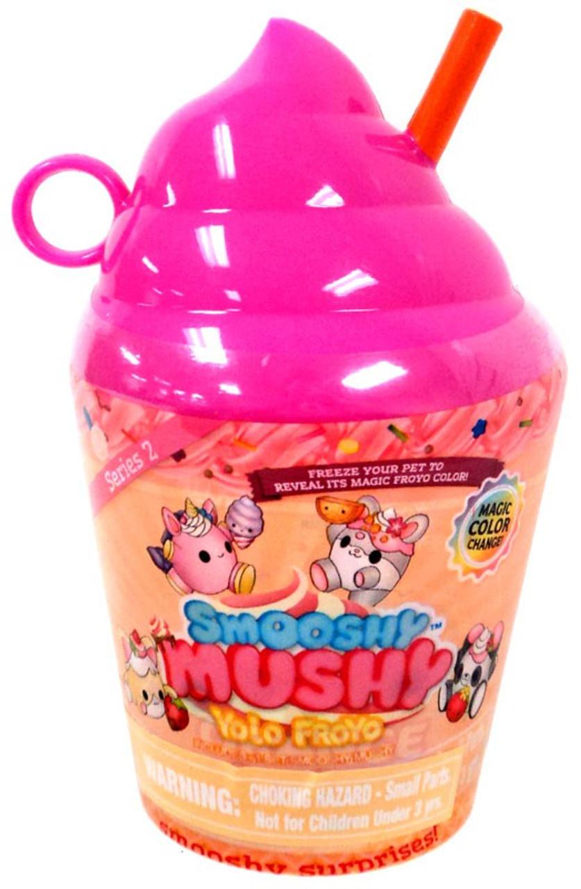 Smooshy Mushy Series 2 Checklist : Smooshy Mushy Yolo Froyo Smooshy Surprises Series 2 Yolo Froyo Mystery Pack Pink Redwood - ToyWiz
