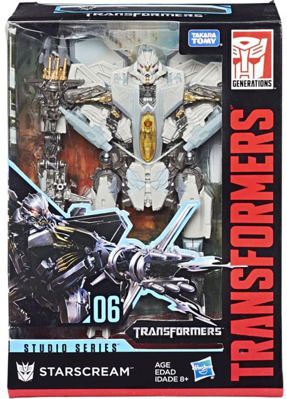 Studio 06 transformers generations studio series 30 starscream voyager action