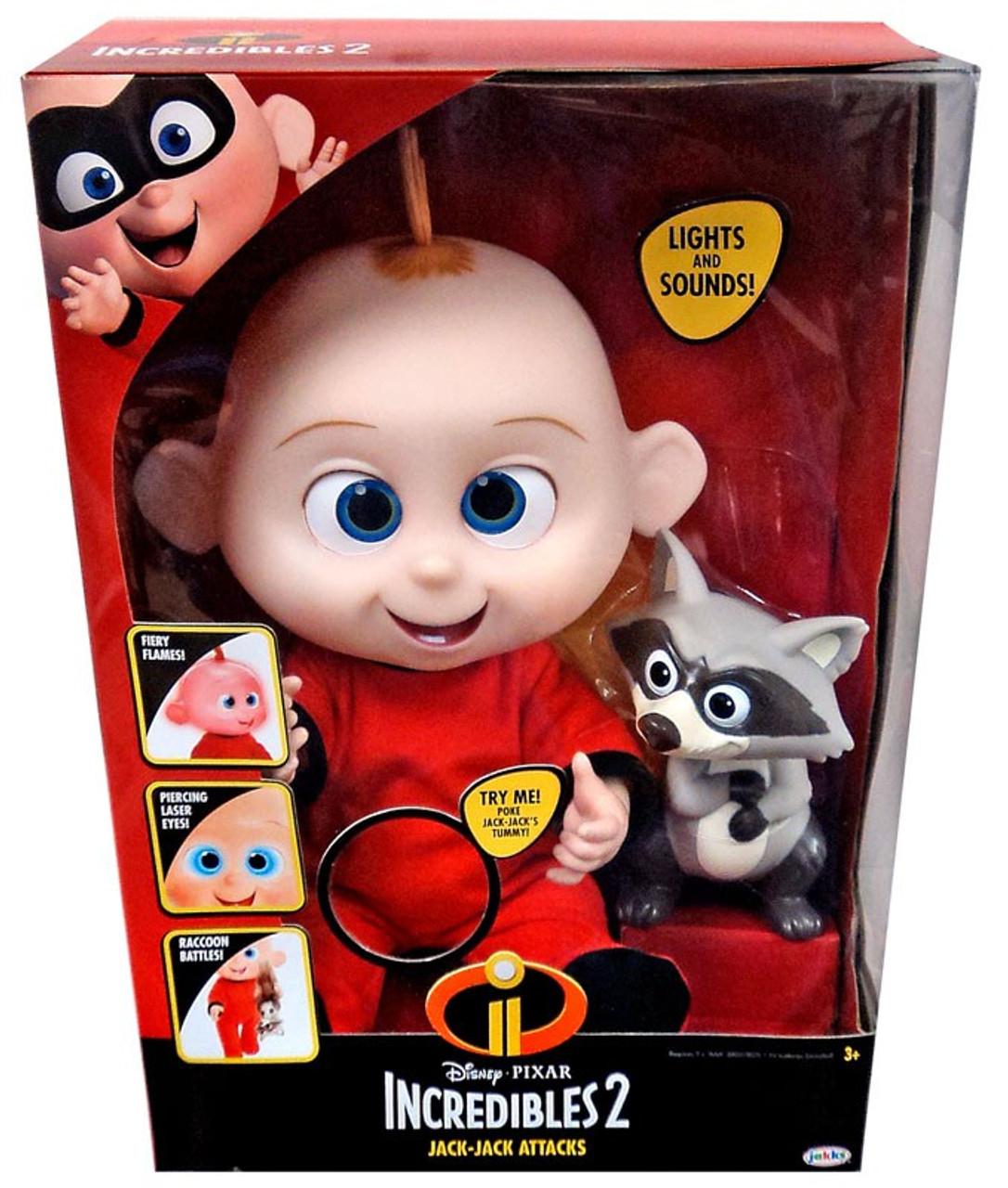 Disney Pixar Incredibles 2 Jack-Jack Attacks Doll Lights Sounds Jakks Pacific - ToyWiz  sc 1 st  ToyWiz.com & Disney Pixar Incredibles 2 Jack-Jack Attacks Doll Lights Sounds ...