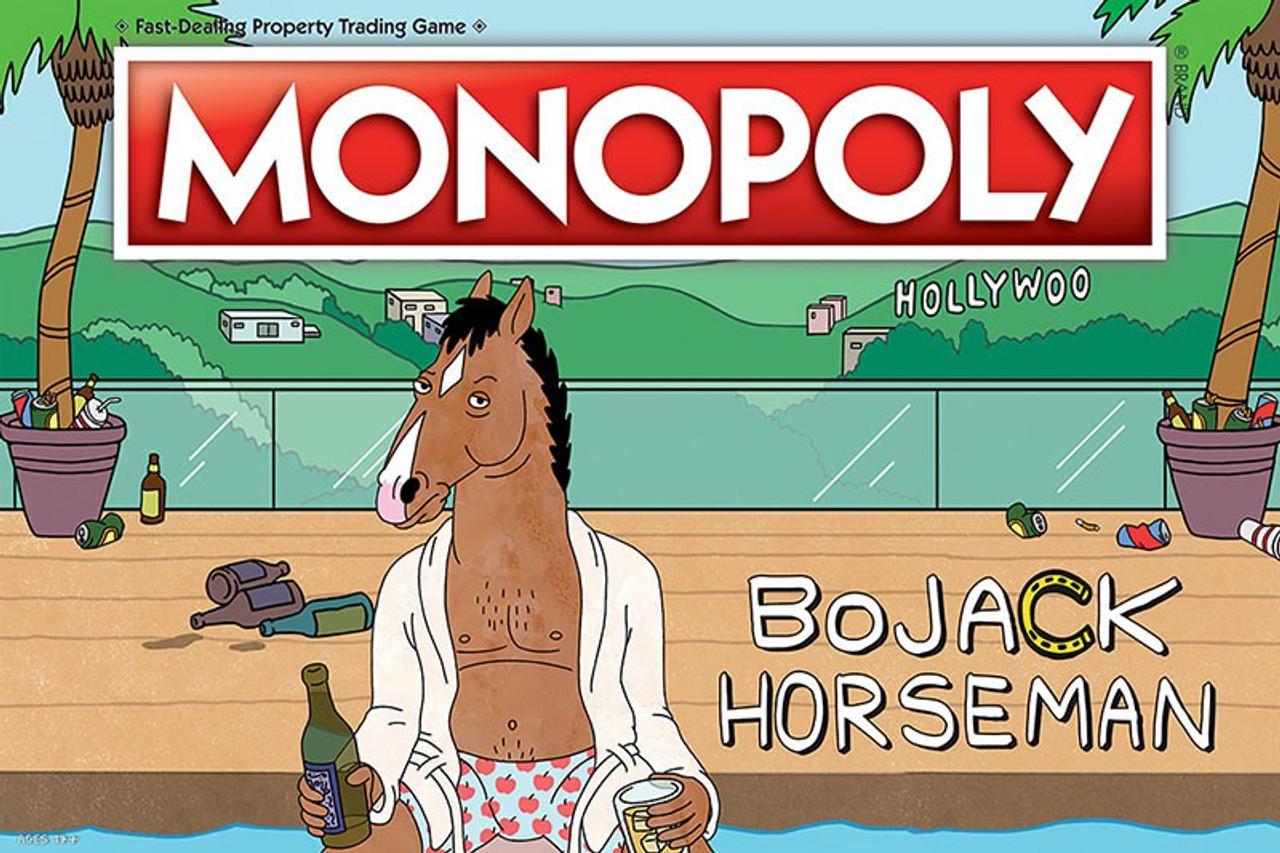 Monopoly Bojack Horseman Board Game