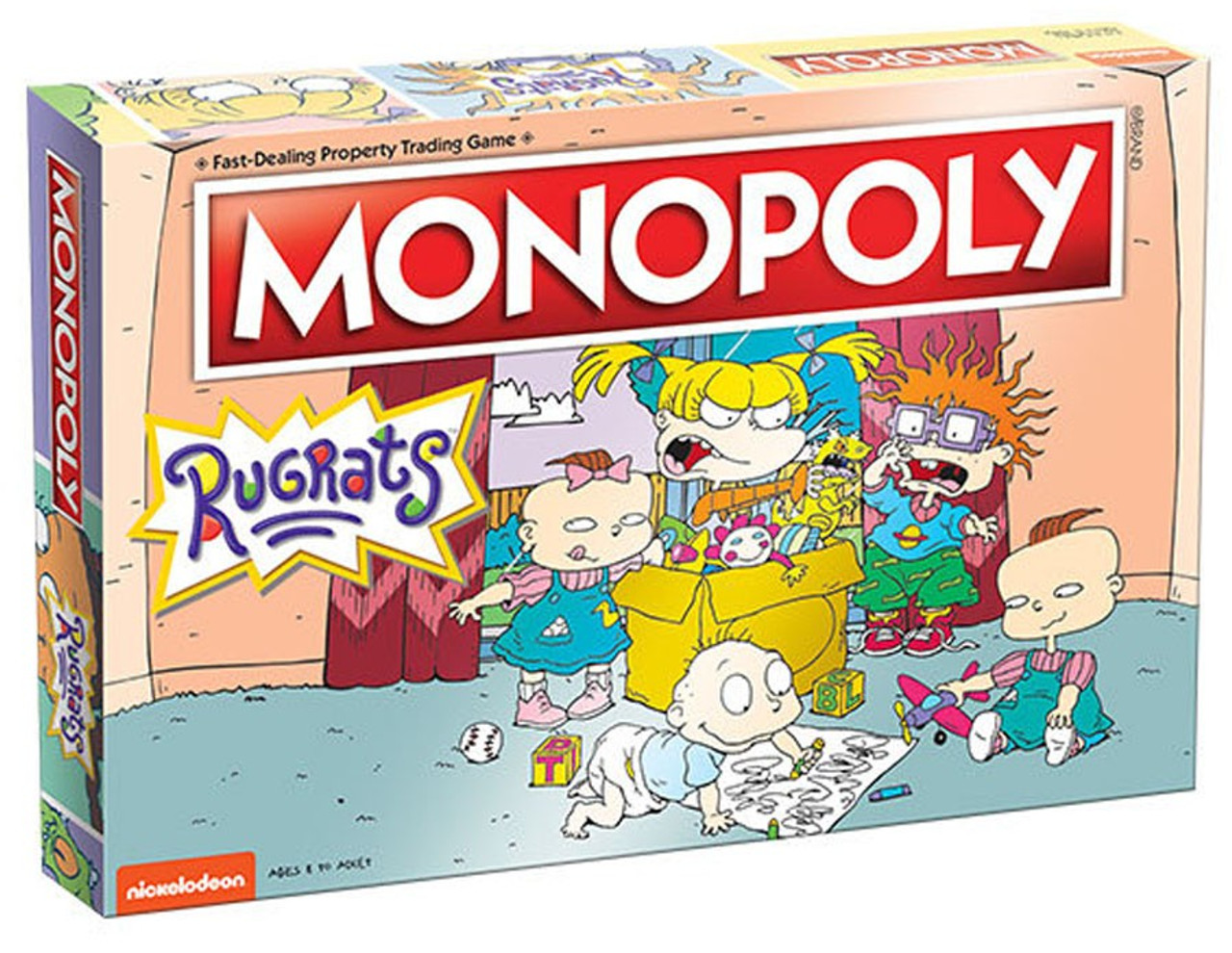 Monopoly Rugrats Board Game (Pre-Order ships August)