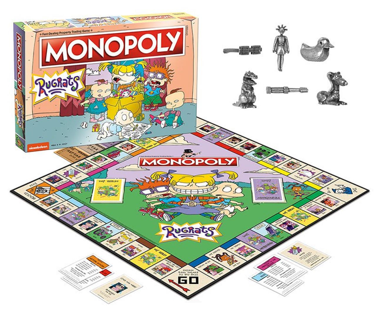 Картинки по запросу Boardgames - Monopoly - Rugrats