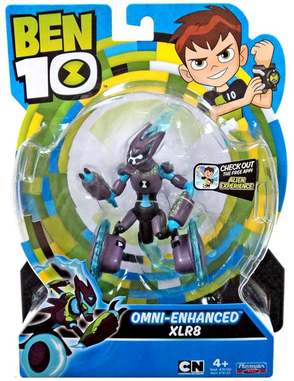 Ben 10 Basic Omni Enhanced XLR8 5 Action Figure Playmates
