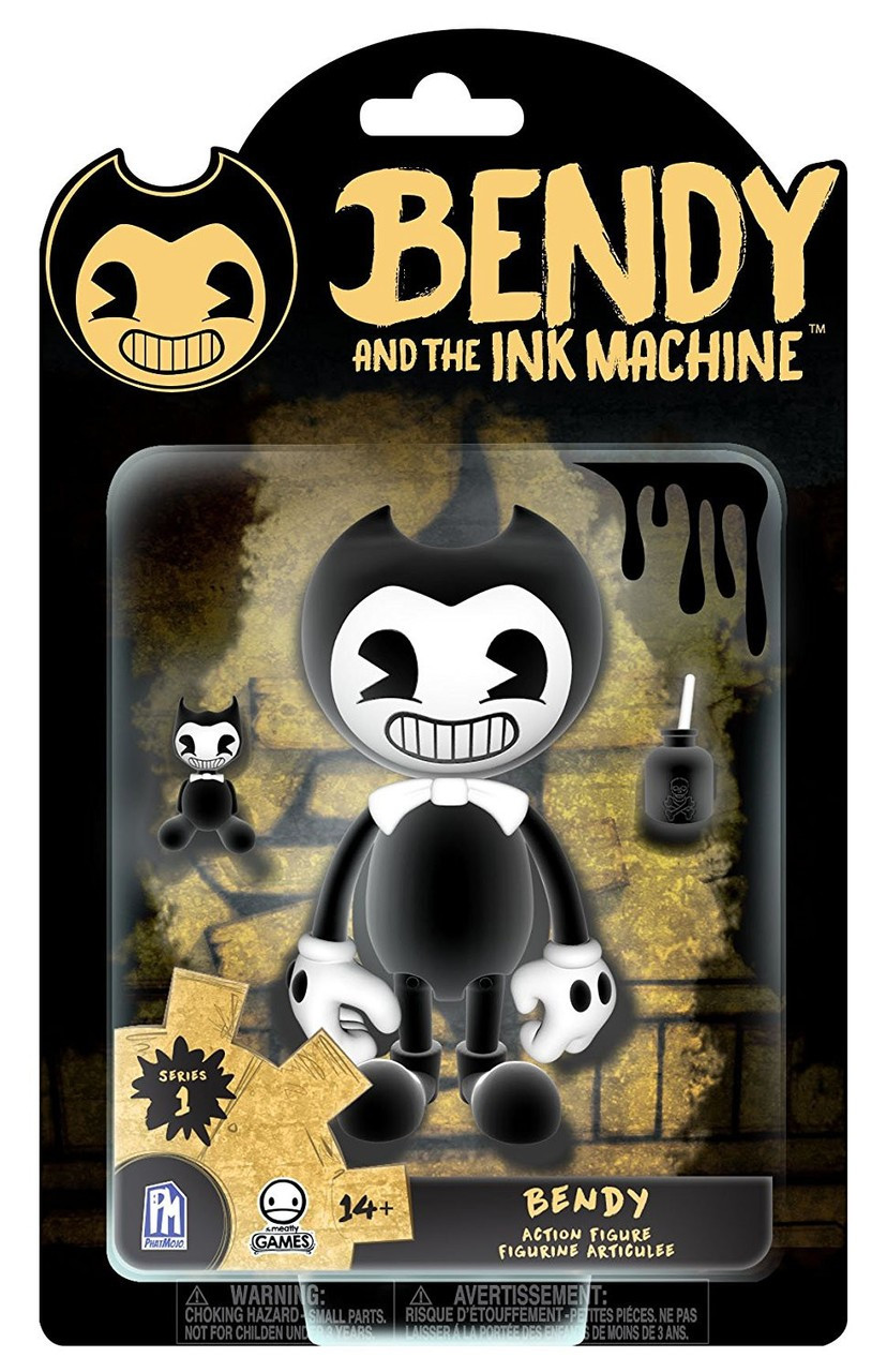 bendy and the ink machine series 1 bendy action figure regular