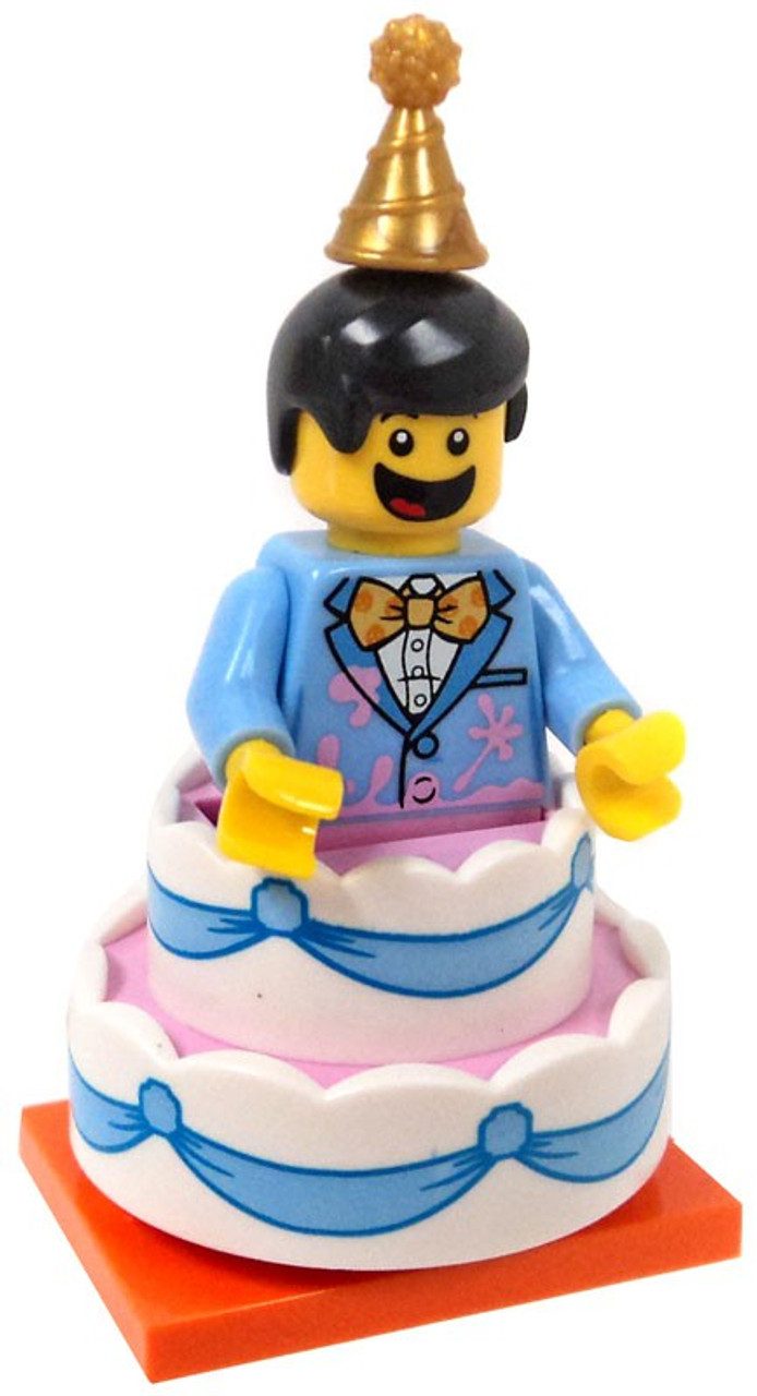 Lego Minifigures Series 18 Birthday Cake Guy Minifigure Loose Toywiz