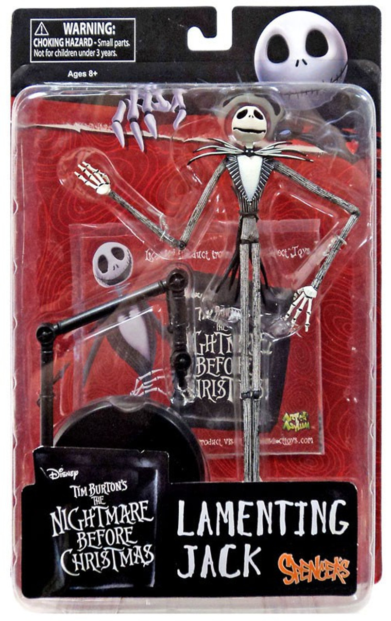 nightmare before christmas lamenting jack exclusive action figure - Nightmare Before Christmas Action Figures