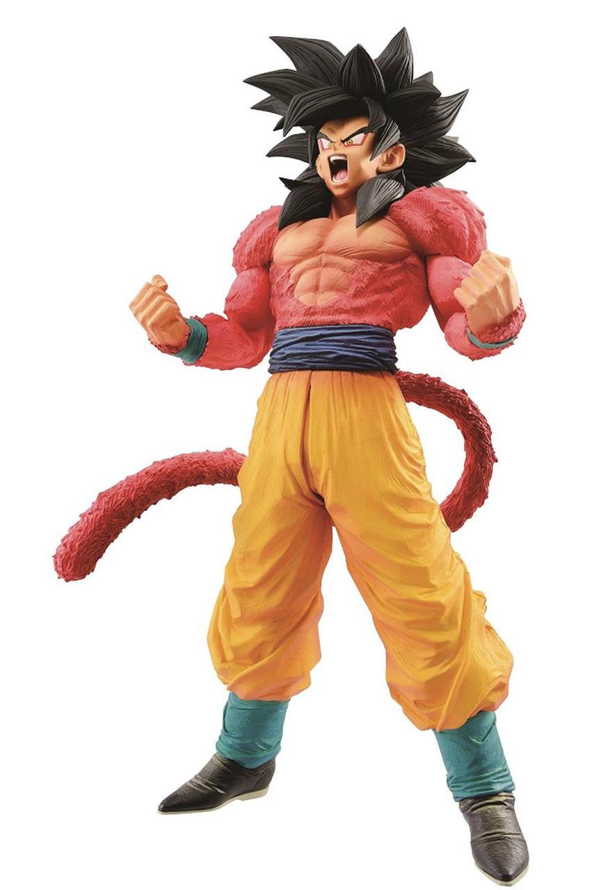 dragon ball gt master stars piece super saiyan 4 son goku 11
