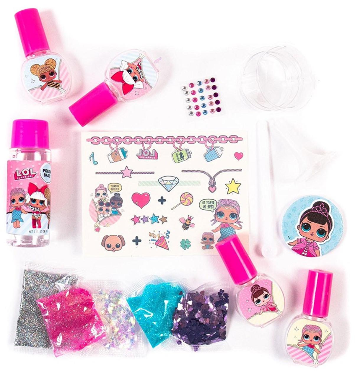 LOL Surprise Confetti Nail Art MGA Entertainment - ToyWiz