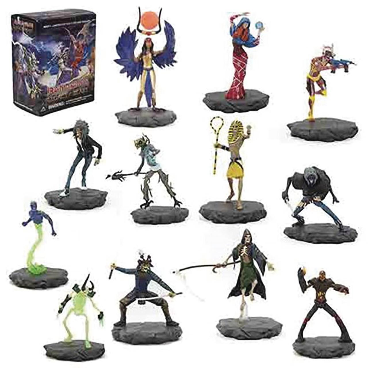 Iron Maiden Series 1 Iron Maiden 4 Minifigure Mystery Box 12 Packs ...