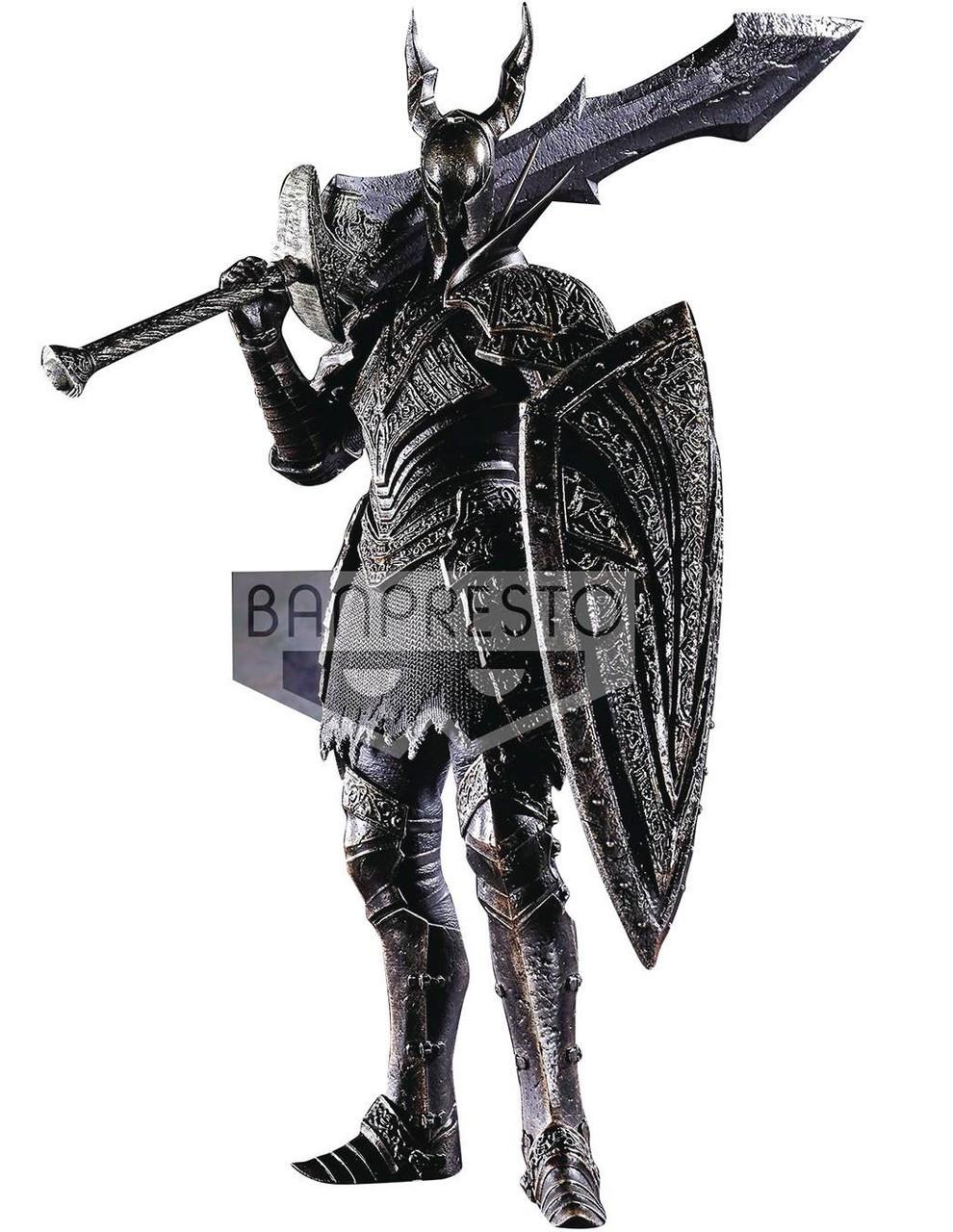 Dark Souls Dxf Sculpt Collection Black Knight 7 8 Pvc Figure 03