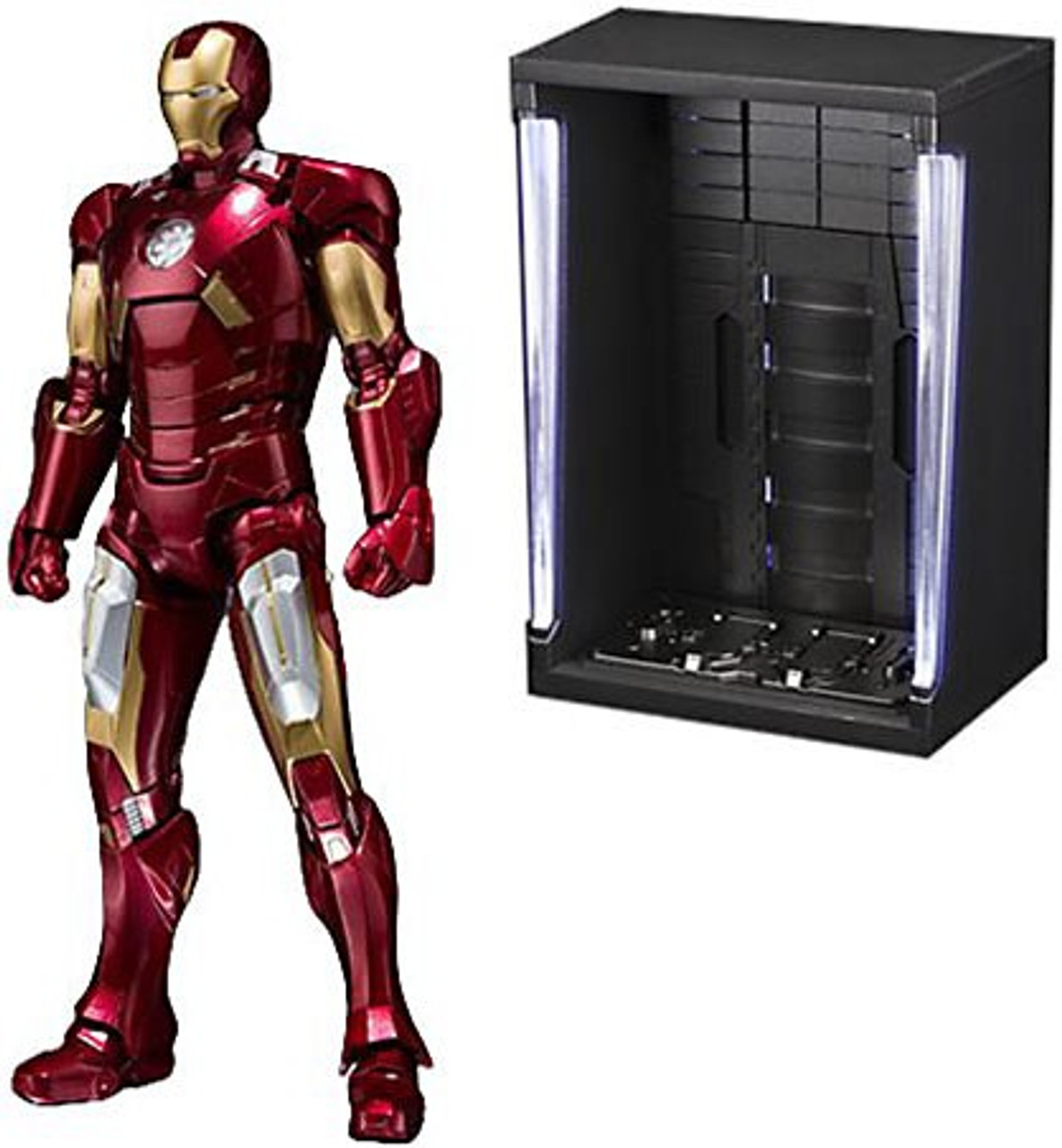 Картинки по запросу S.H.Figuarts Figures - Marvel - Iron Man Mark VII And Hall Of Armor Set