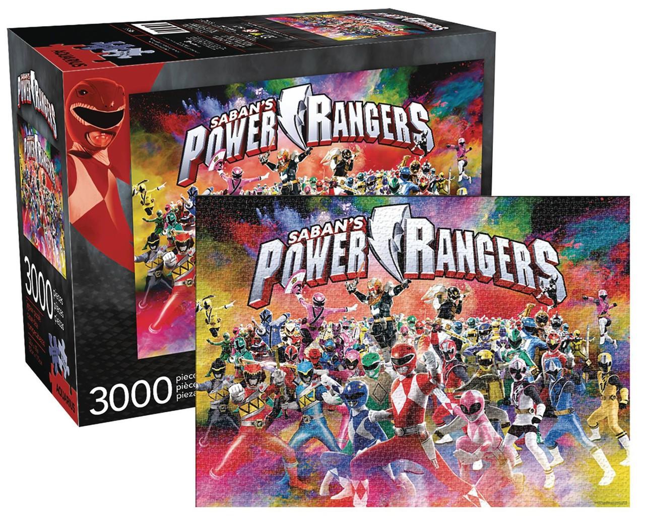 power rangers power rangers puzzle 3 000 pieces nmr america toywiz