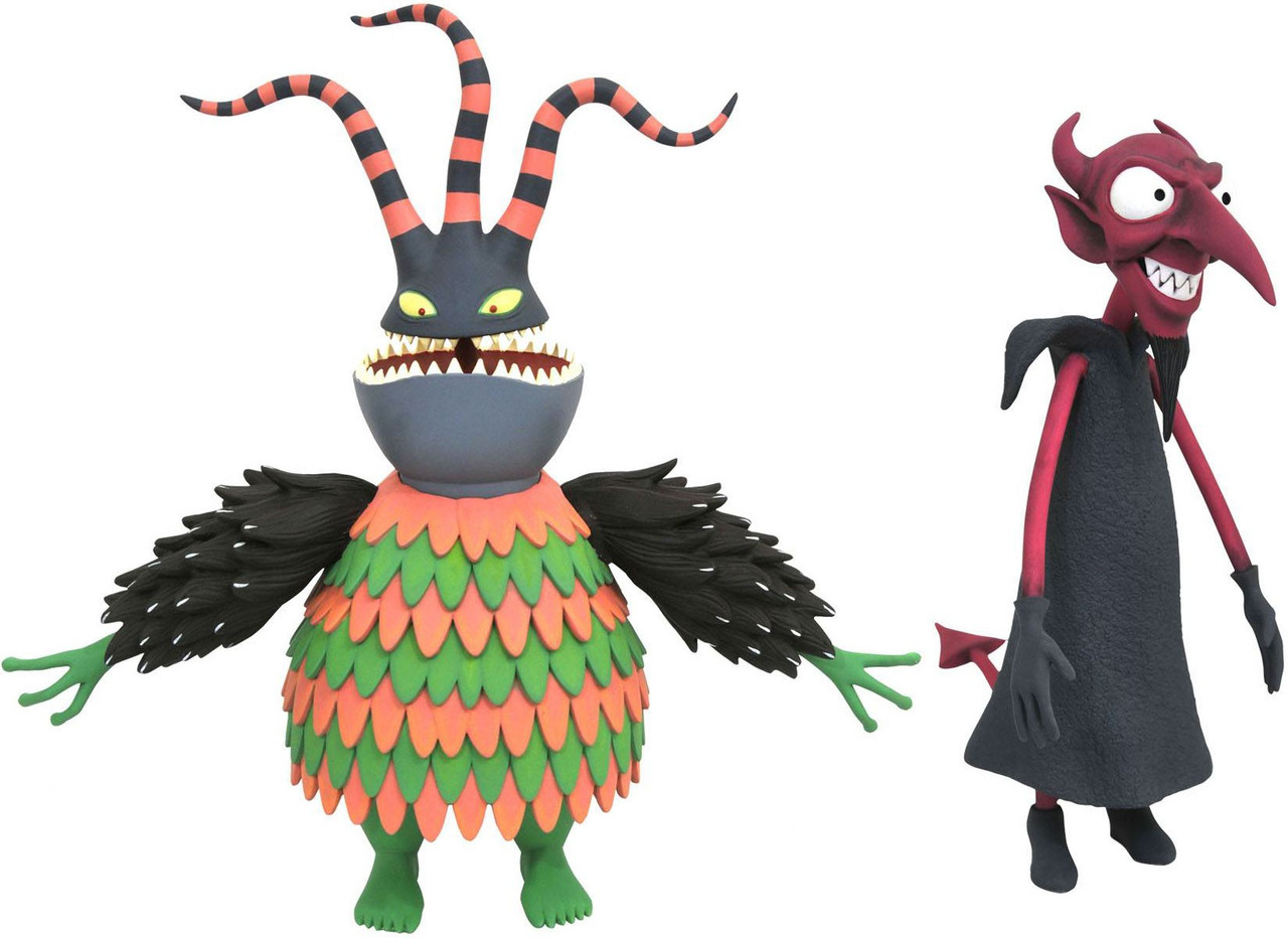 Nightmare Before Christmas Select Series 6 Harlequin Devil Action ...