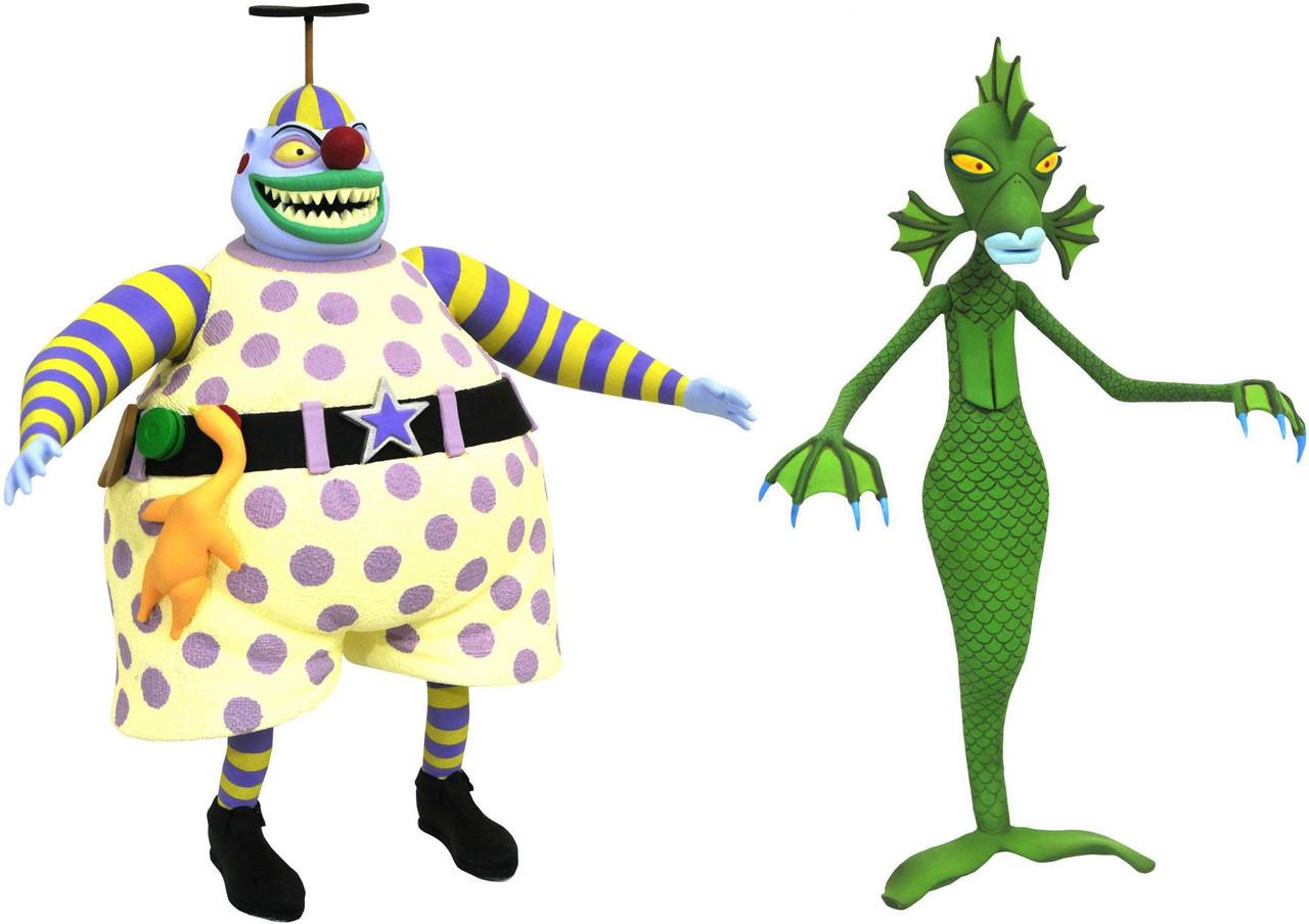 Nightmare Before Christmas Select Series 6 Clown Undersea Gal Action ...