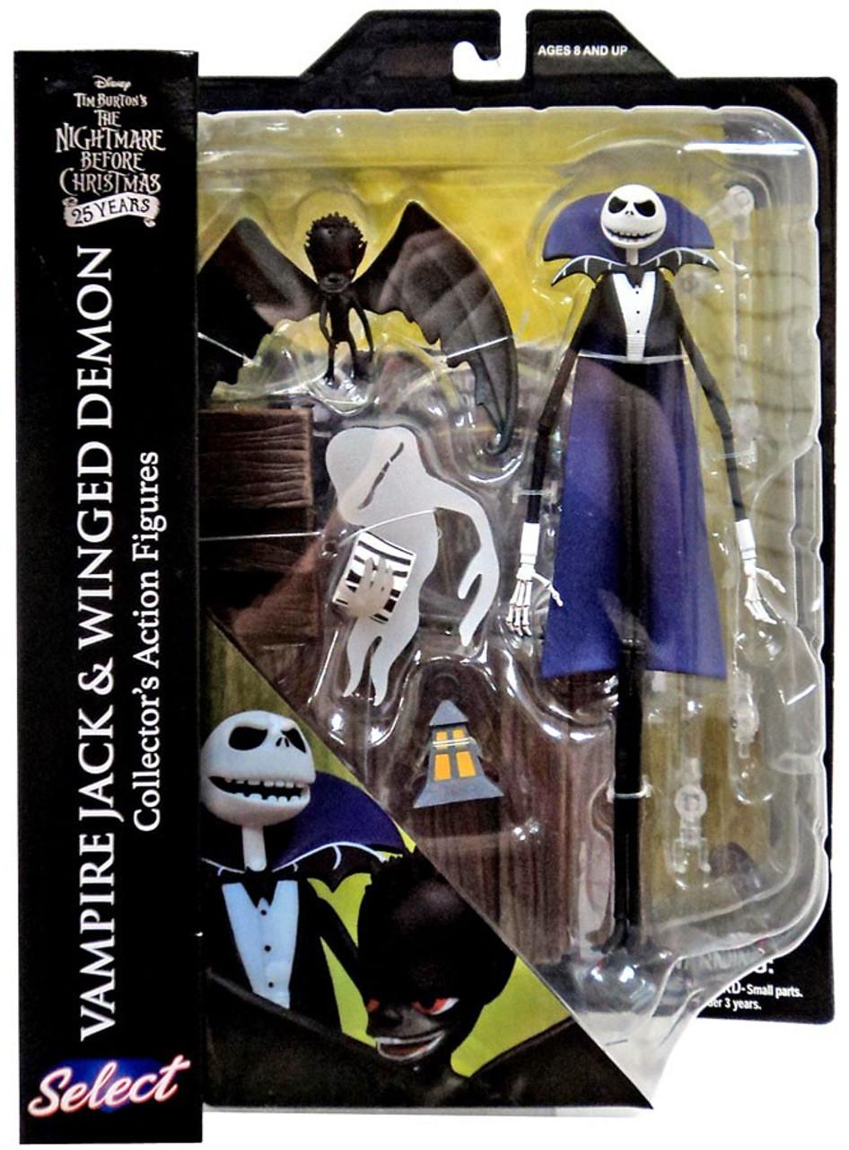 nightmare before christmas select series 5 vampire jack winged demon action figure