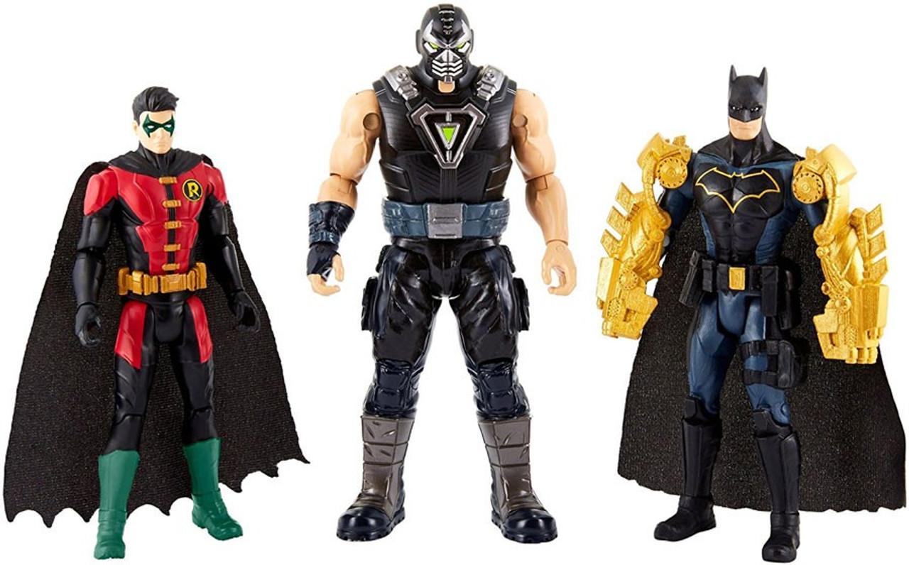 DC Comics Knight Missions Batman Robin vs. Bane 6 Action Figure 3-Pack Mattel Toys - ToyWiz  sc 1 st  ToyWiz.com & DC Comics Knight Missions Batman Robin vs. Bane 6 Action Figure 3 ...