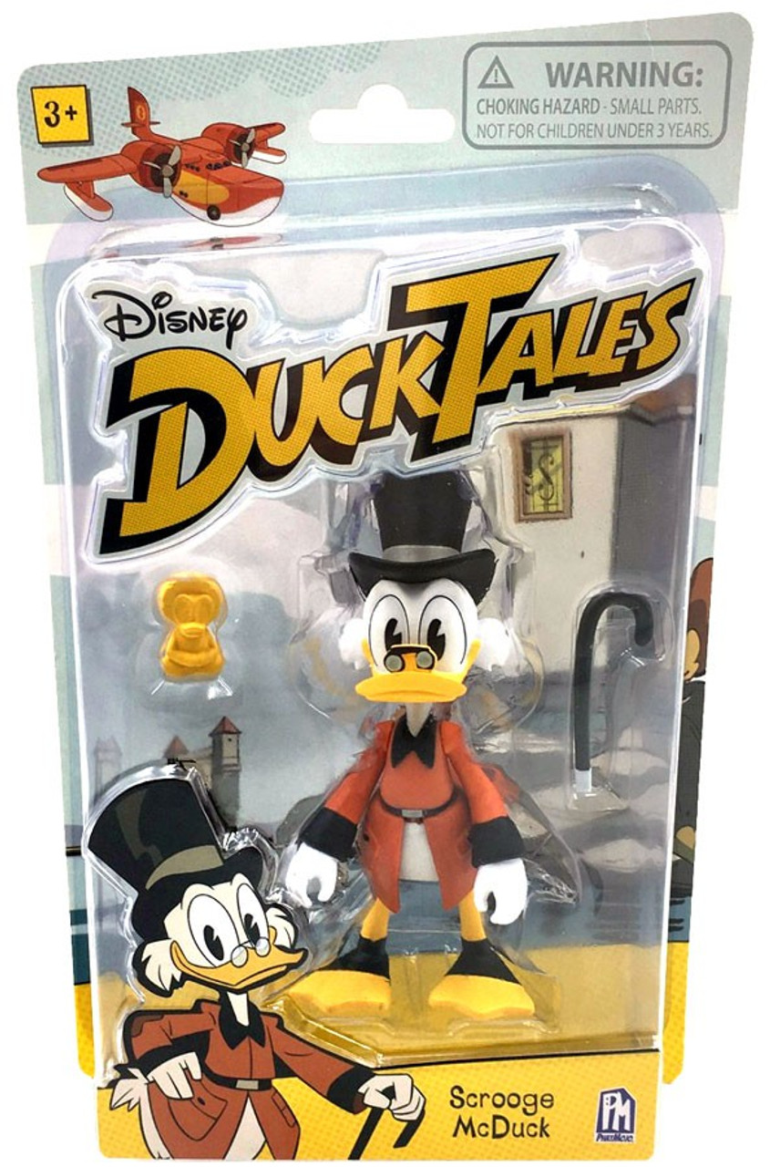 disney ducktales scrooge mcduck action figure phatmojo toywiz