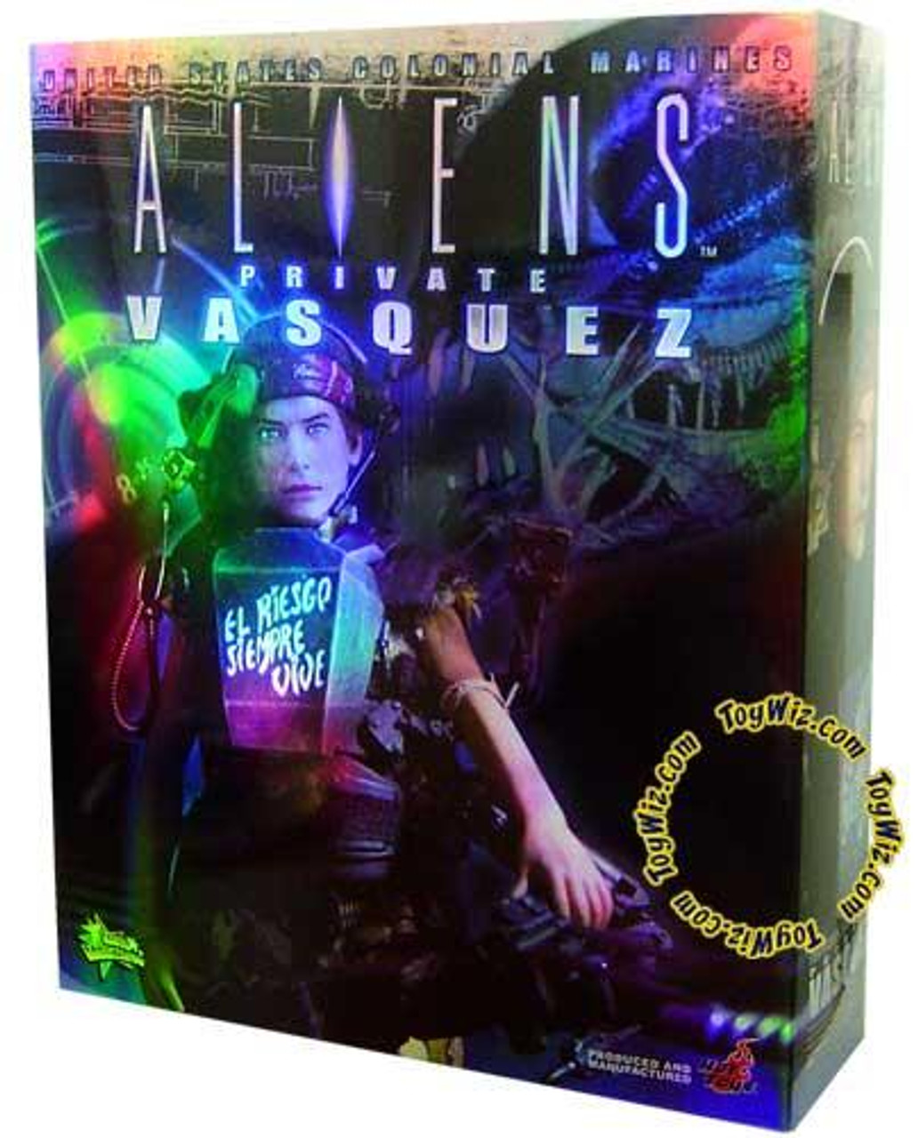 Aliens Movie Masterpiece Private Vasquez 1/6 Collectible Figure