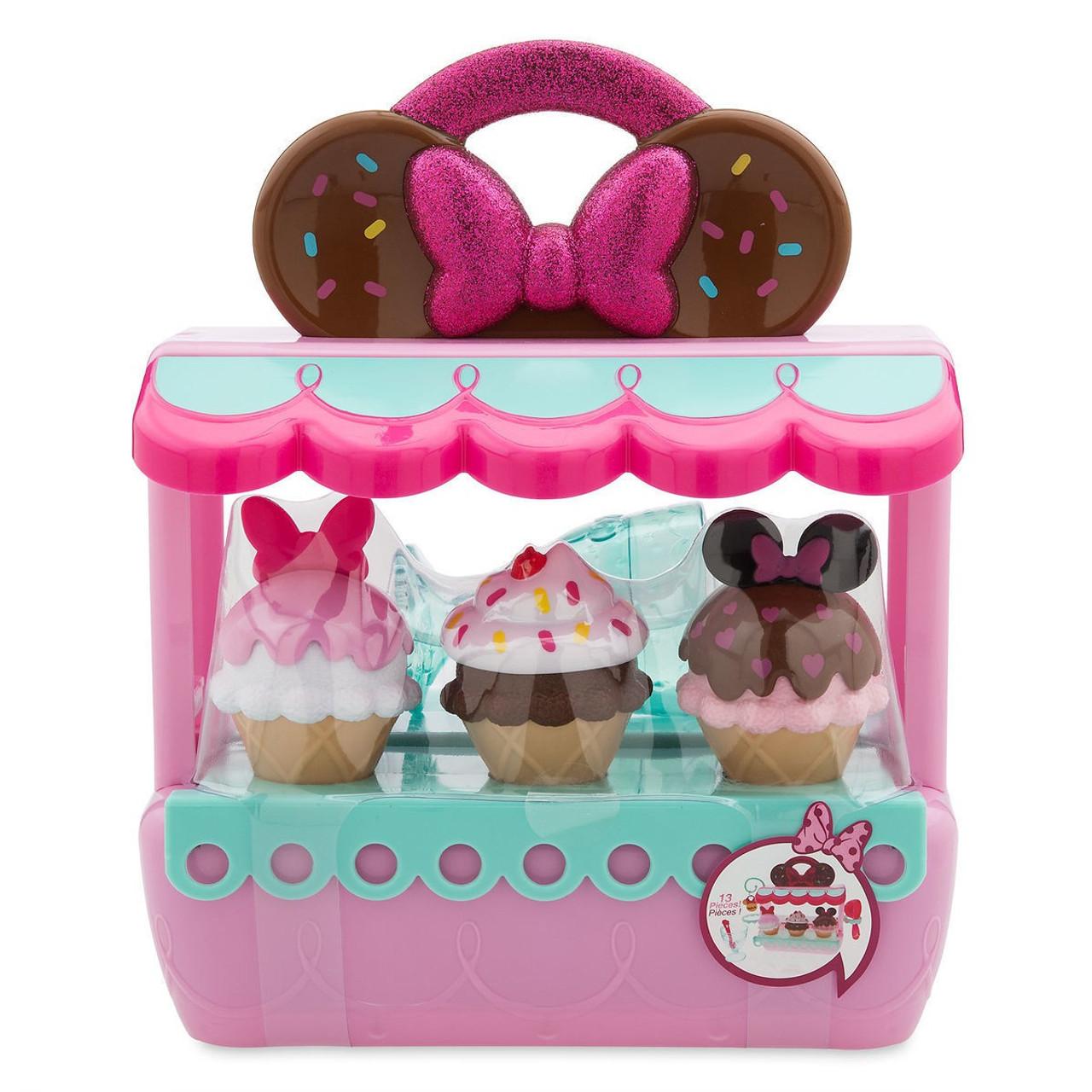 disney minnie mouse ice cream exclusive playset toywiz