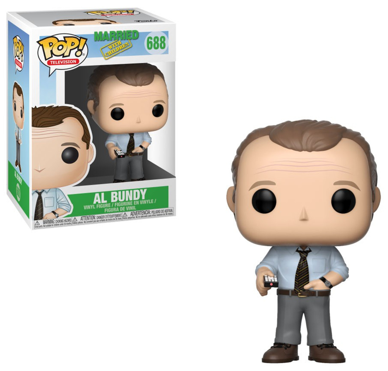Funko Pop Television: Funko Married With Children Funko POP TV Al Bundy Vinyl
