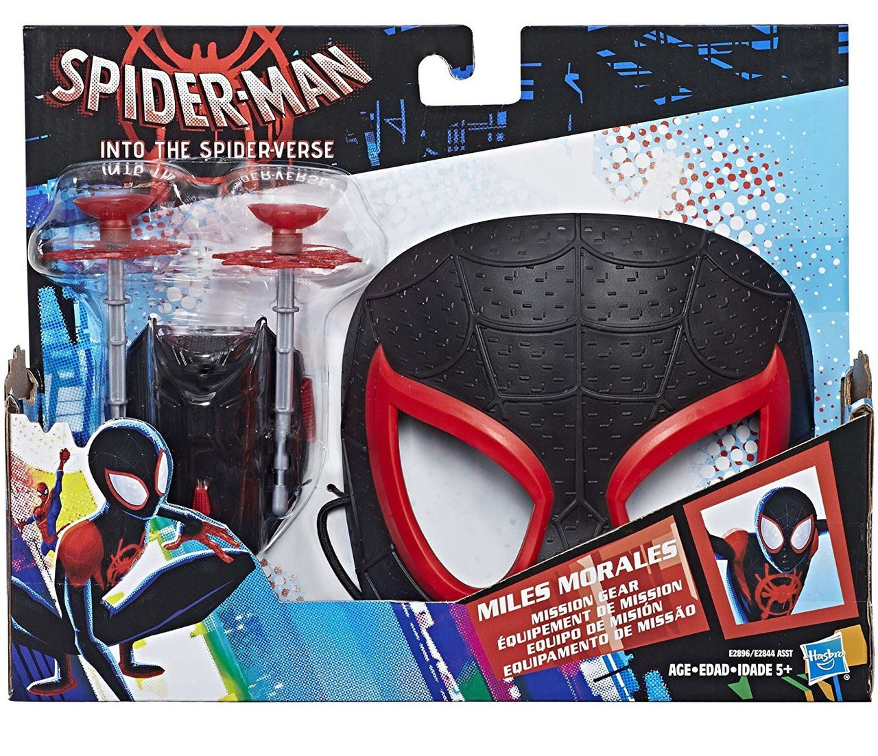 Marvel Spider Man Into The Verse Miles Morales Mission Gear Spiderman Hasbro