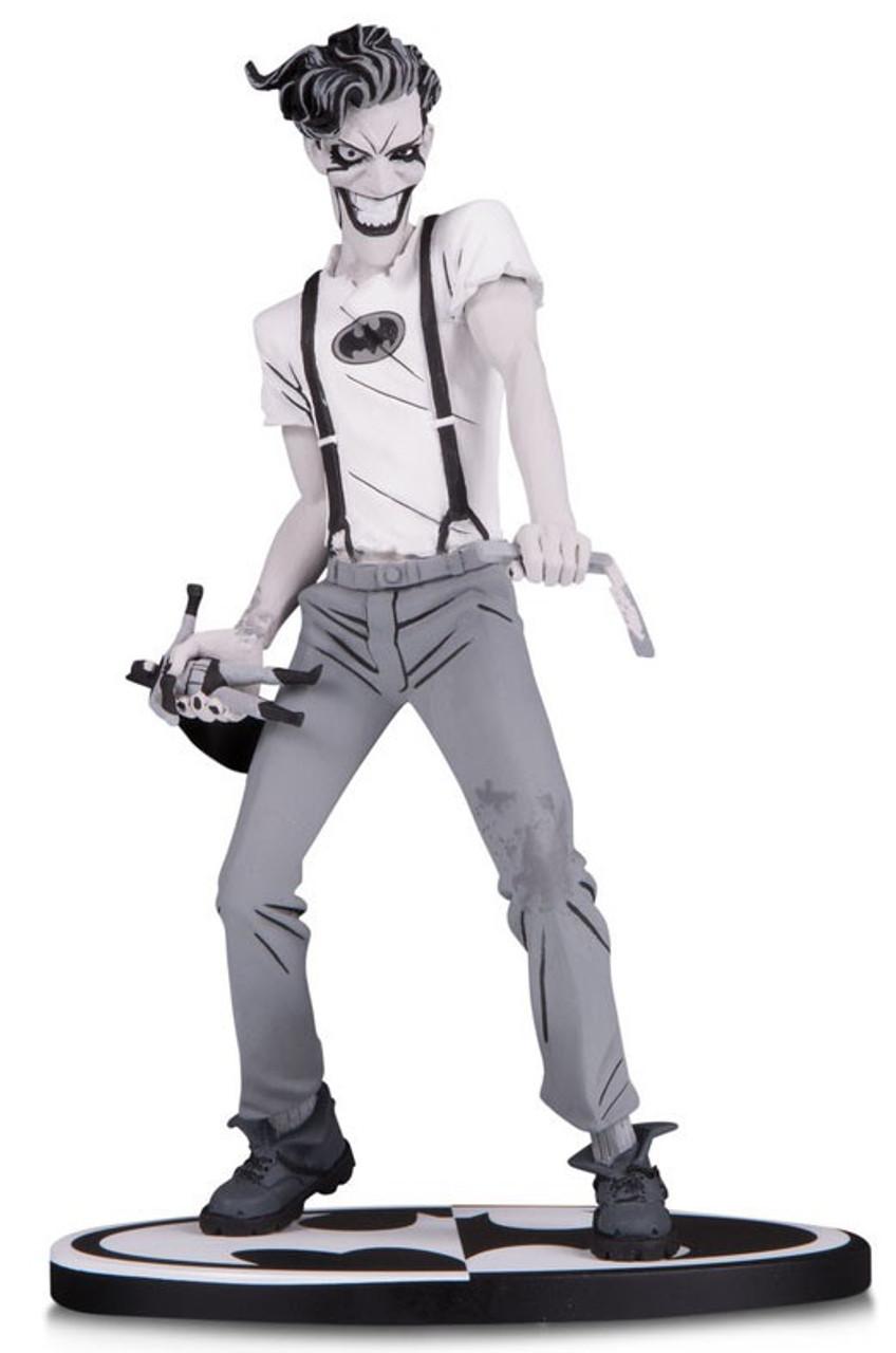 batman black white black white joker 6 9 statue batman white knight