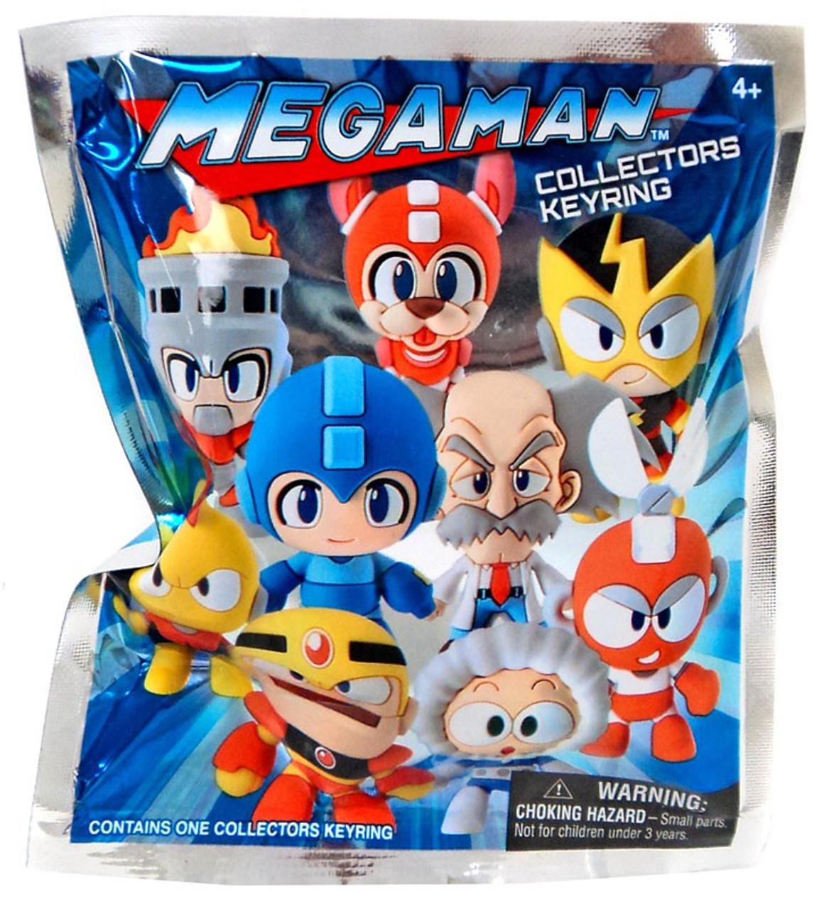 3D Figural Keyring Mega Man Mystery Pack