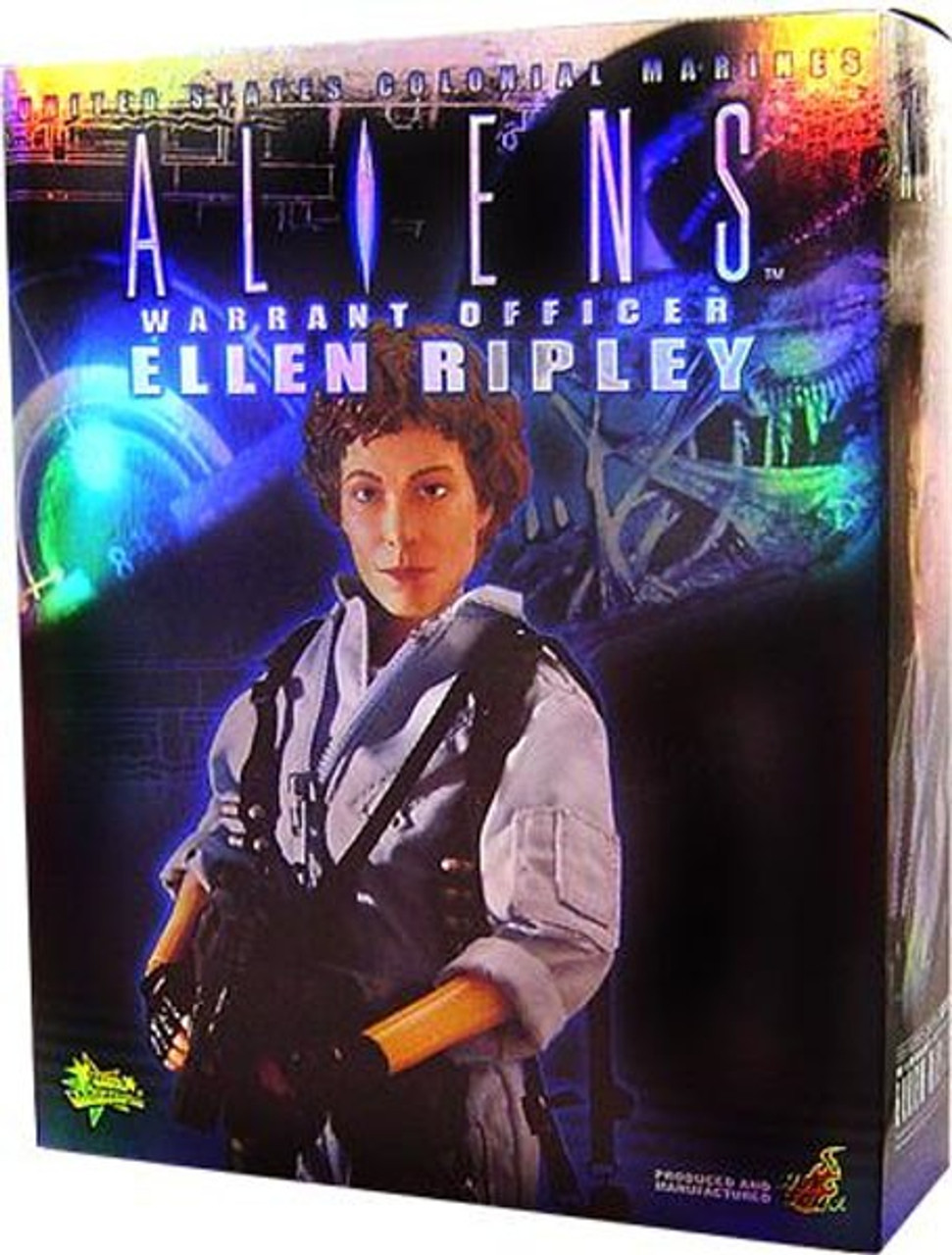 Aliens Movie Masterpiece Ellen Ripley 1/6 Collectible Figure [Warrant Officer]