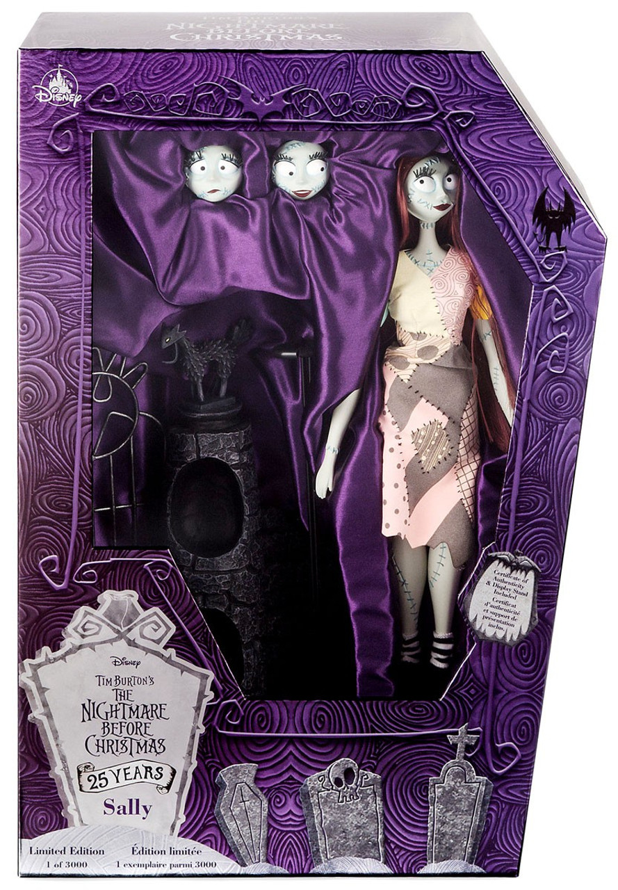 Disney Nightmare Before Christmas 25th Anniversary Sally Exclusive ...