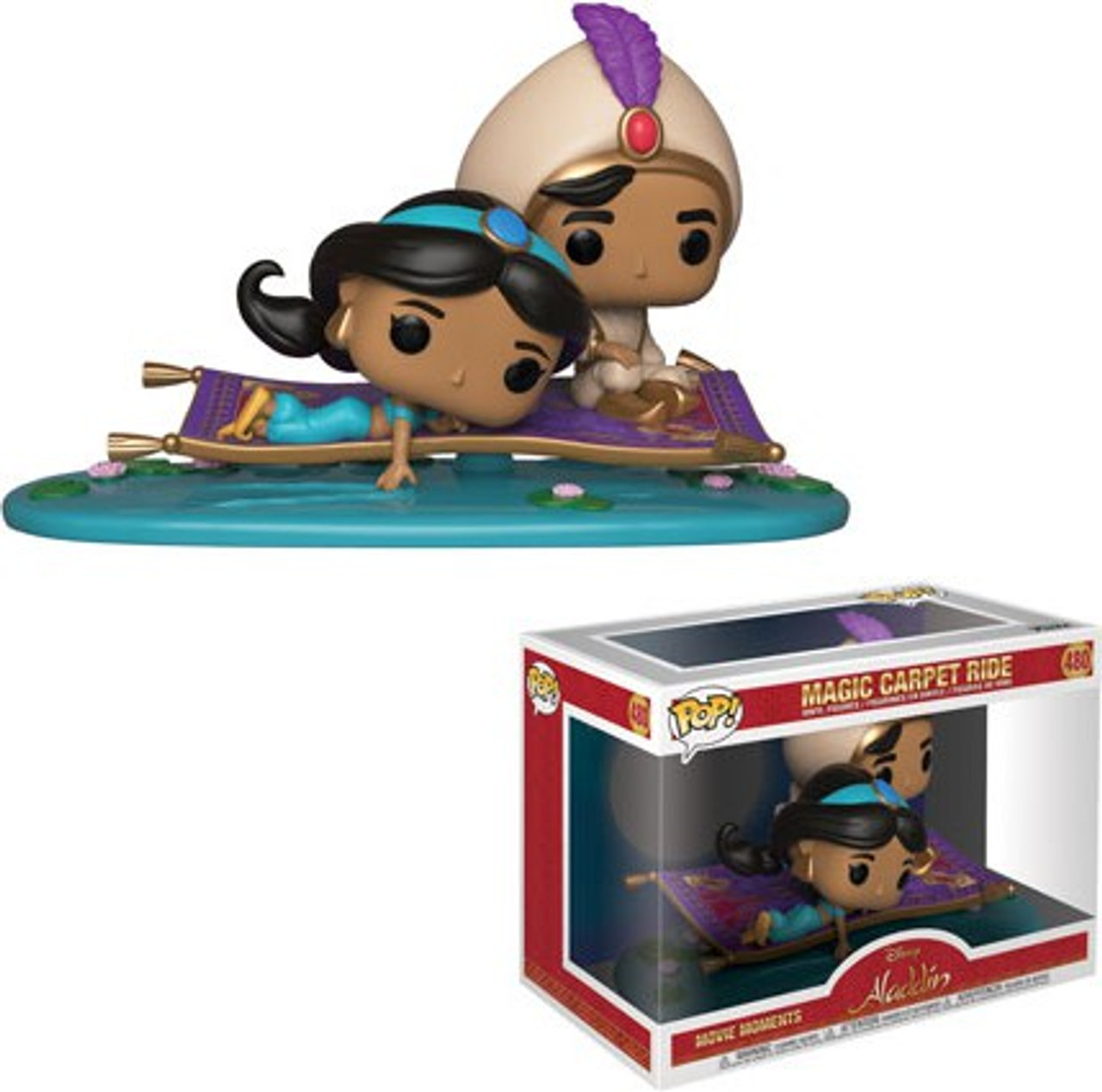 Funko Disney Aladdin Funko Pop Disney Magic Carpet Ride