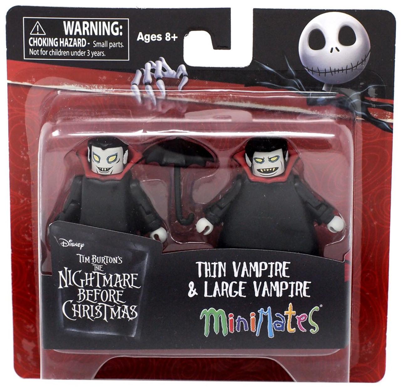 Nightmare Before Christmas Minimates Thin Vampire Large Vampire ...