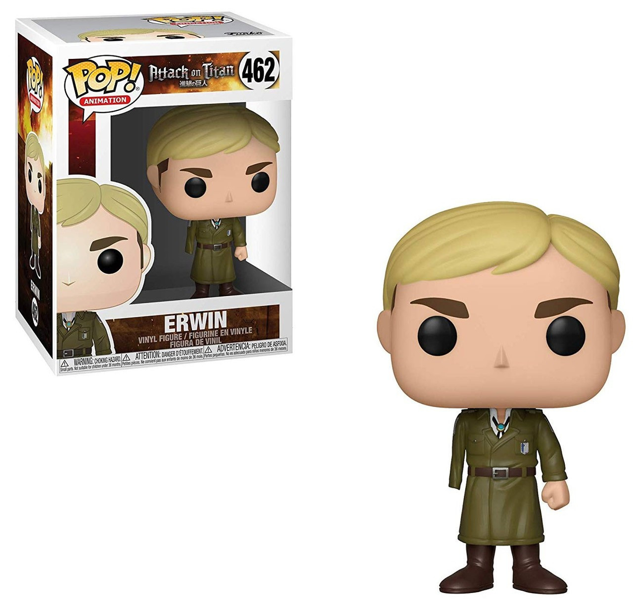 Animation Erwin Vinyl Figure #462 [One-Armed