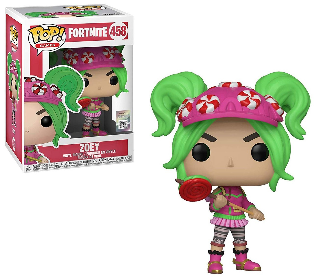 Funko Fortnite Funko Pop Games Zoey Vinyl Figure 458 Toywiz