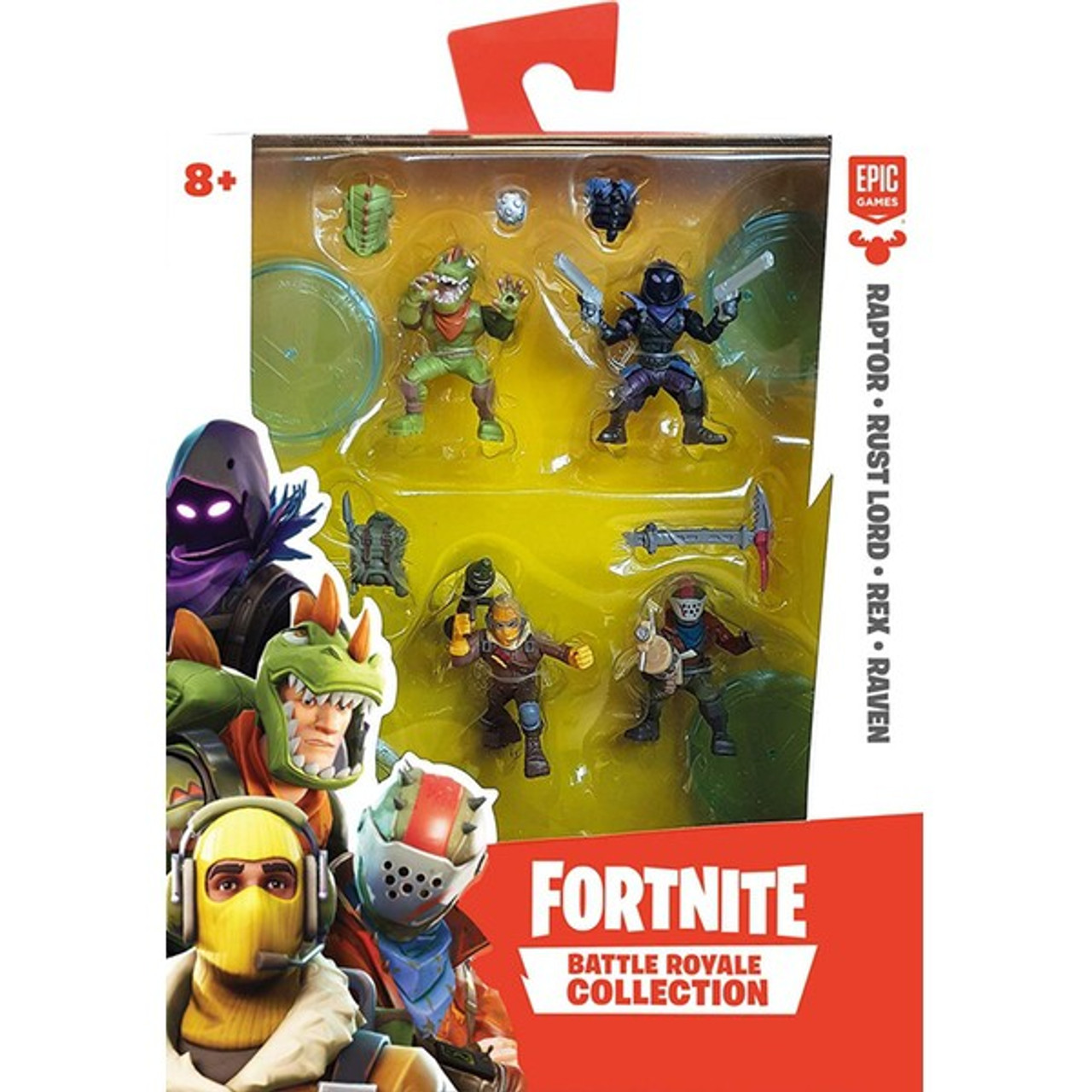 Fortnite Battle Royale Collection Raptor Rust Lord Rex Reaven 2