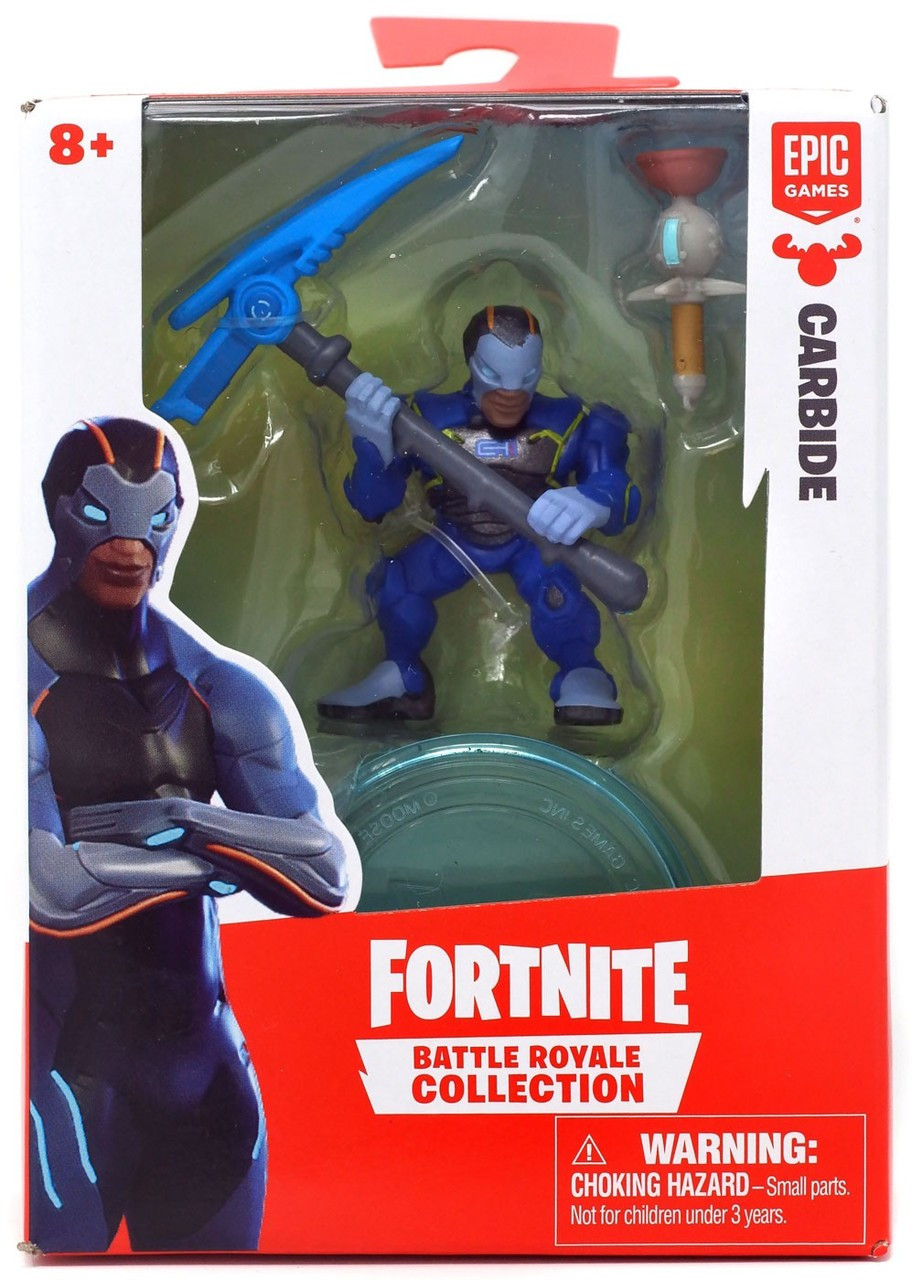 Fortnite Epic Games Battle Royale Collection Carbide 2 Mini Figure