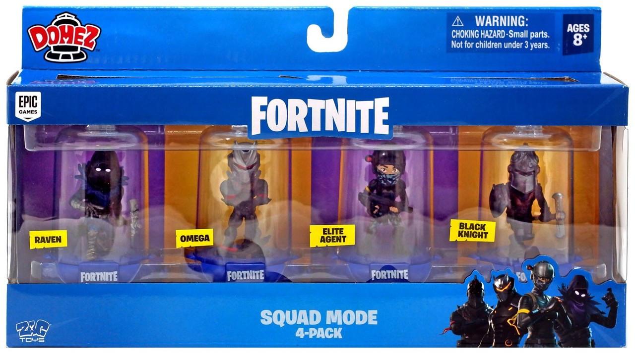 Fortnite Domez Raven Omega Elite Agent Black Knight Mini Figure 4