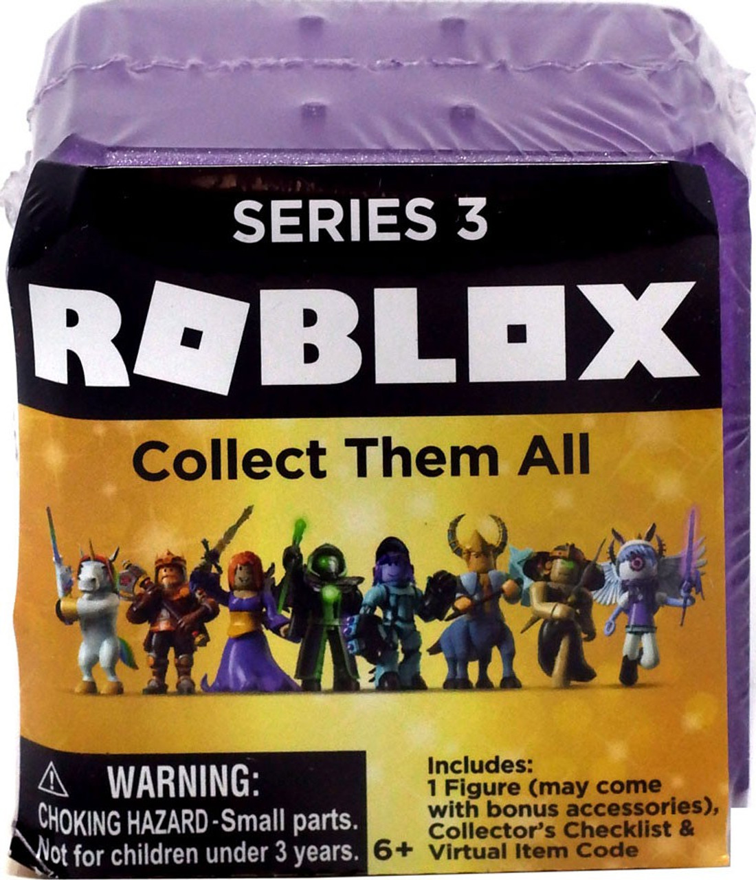 Details about Roblox Celebrity Gold PURPLE Series 1 2 3 Mystery Action  Figures+Exclusive Codes