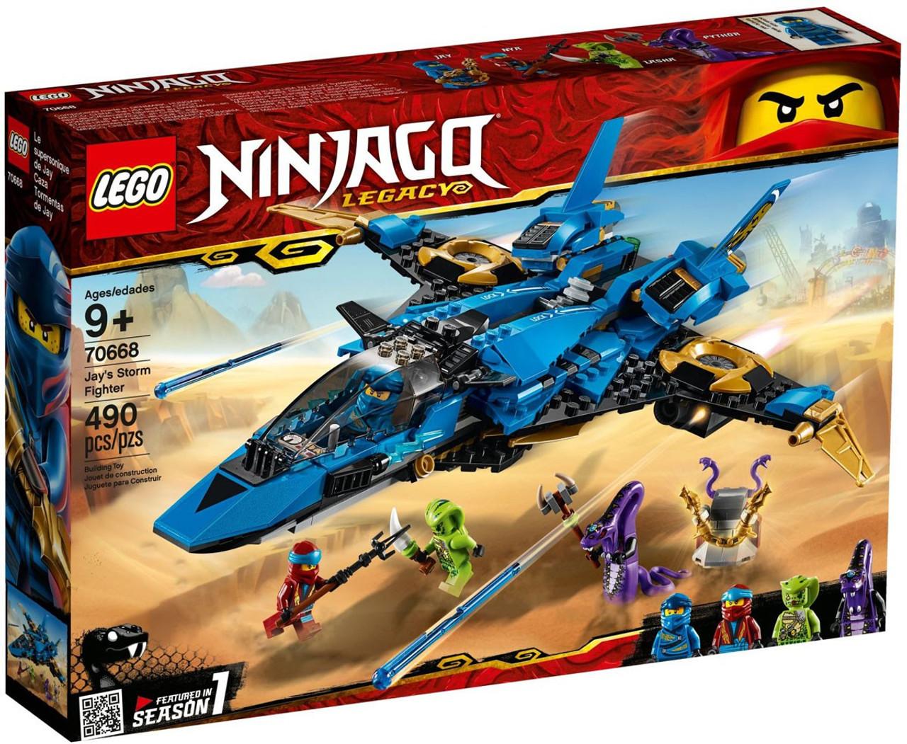 LEGO Ninjago Legacy Jays Storm Fighter Set 70668 - ToyWiz