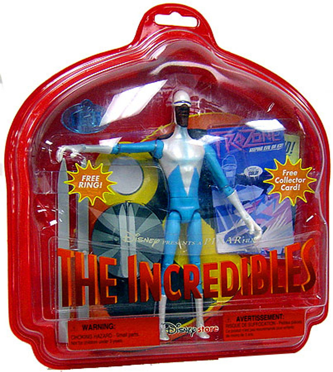Disney / Pixar The Incredibles Frozone Exclusive Action Figure [Damaged Package]