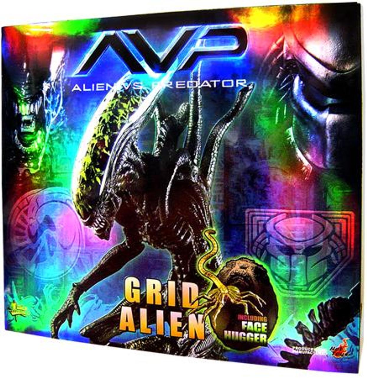 Alien vs Predator Movie Masterpiece Grid Alien with Facehugger Exclusive 1/6 Collectible Figure