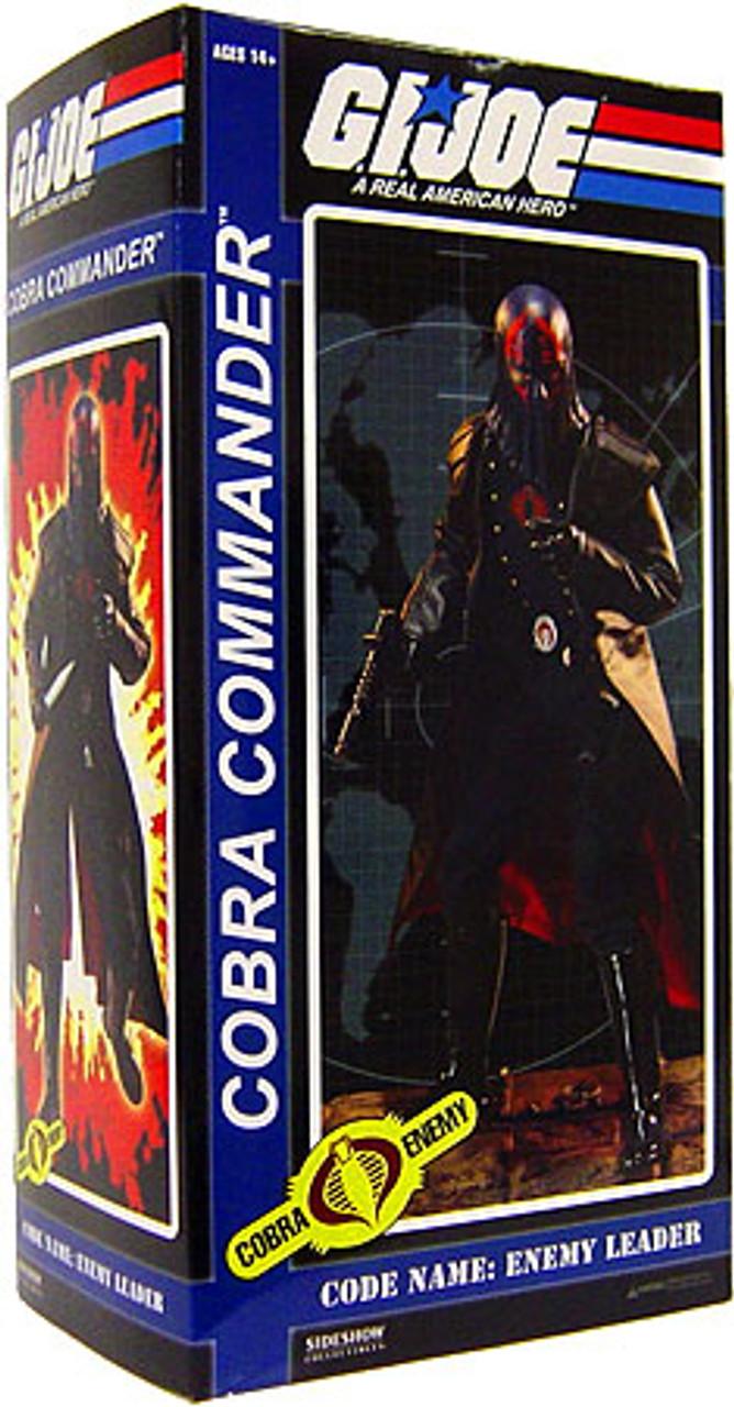 GI Joe Cobra Enemy Hooded Cobra Commander 1/6 Collectible Figure