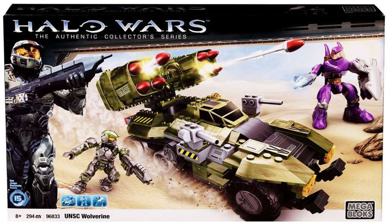 Mega Bloks Halo UNSC Wolverine Set #96833