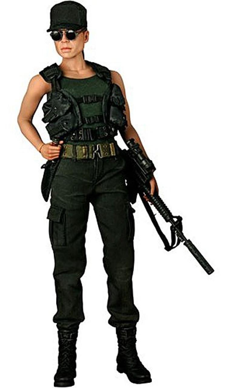 Terminator 2 Judgment Day Movie Masterpiece Sarah Connor 1/6 Collectible Figure