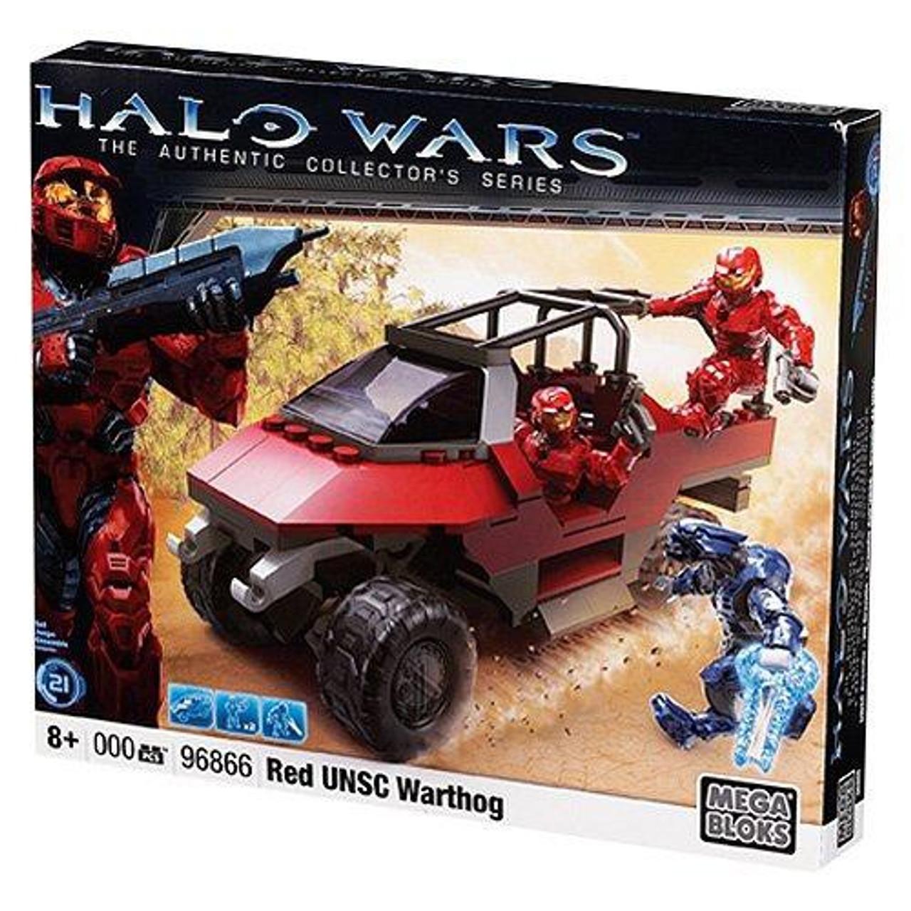 Mega Bloks Halo Red UNSC Warthog Set #96866