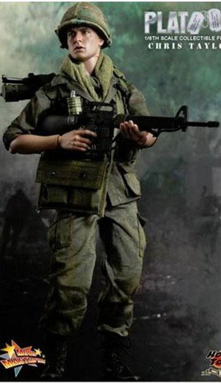 Platoon Movie Masterpiece Chris Taylor 1/6 Collectible Figure