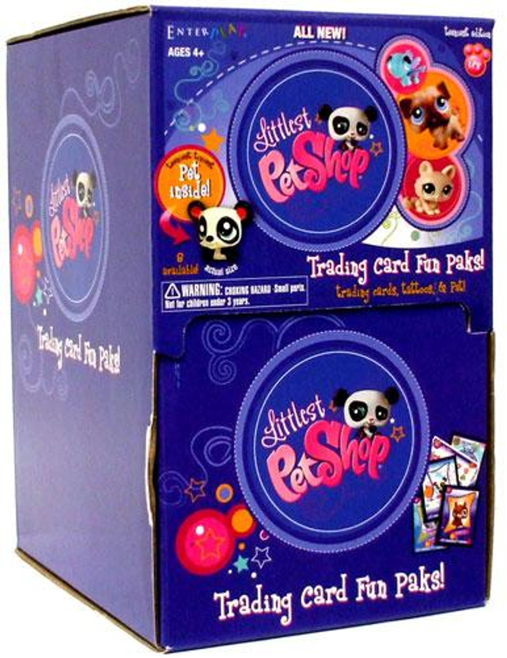 Littlest Pet Shop Teeniest Edition Trading Card Box