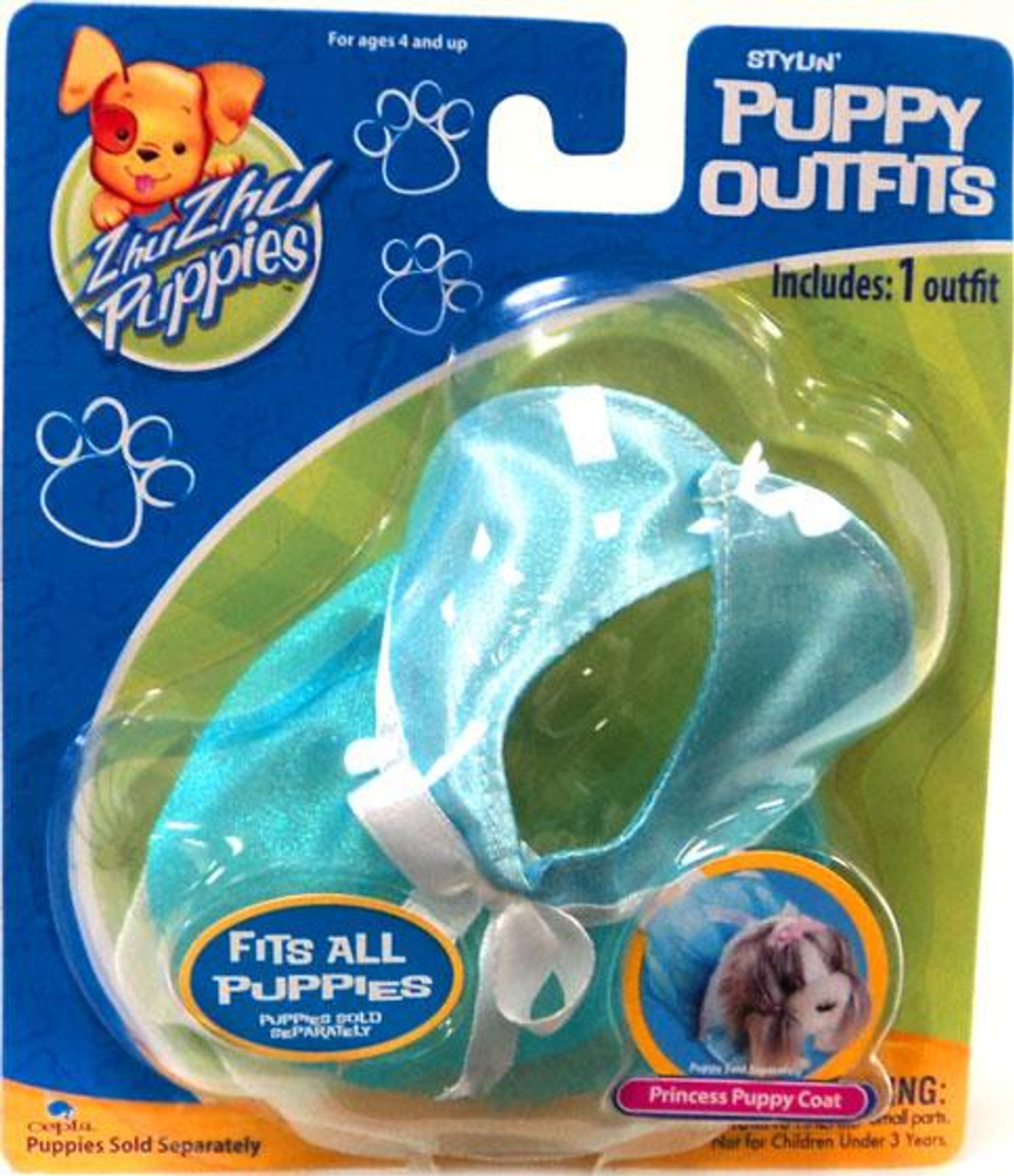 Zhu Zhu Pets Zhu Zhu Puppies Puppy Outfits Princess Puppy Coat Accessory Set