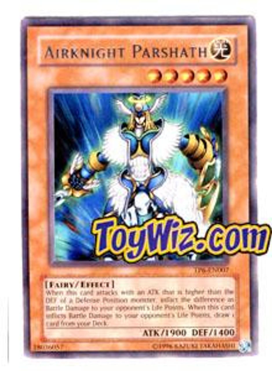YuGiOh Tournament Pack 6 Rare Airknight Parshath TP6-EN007