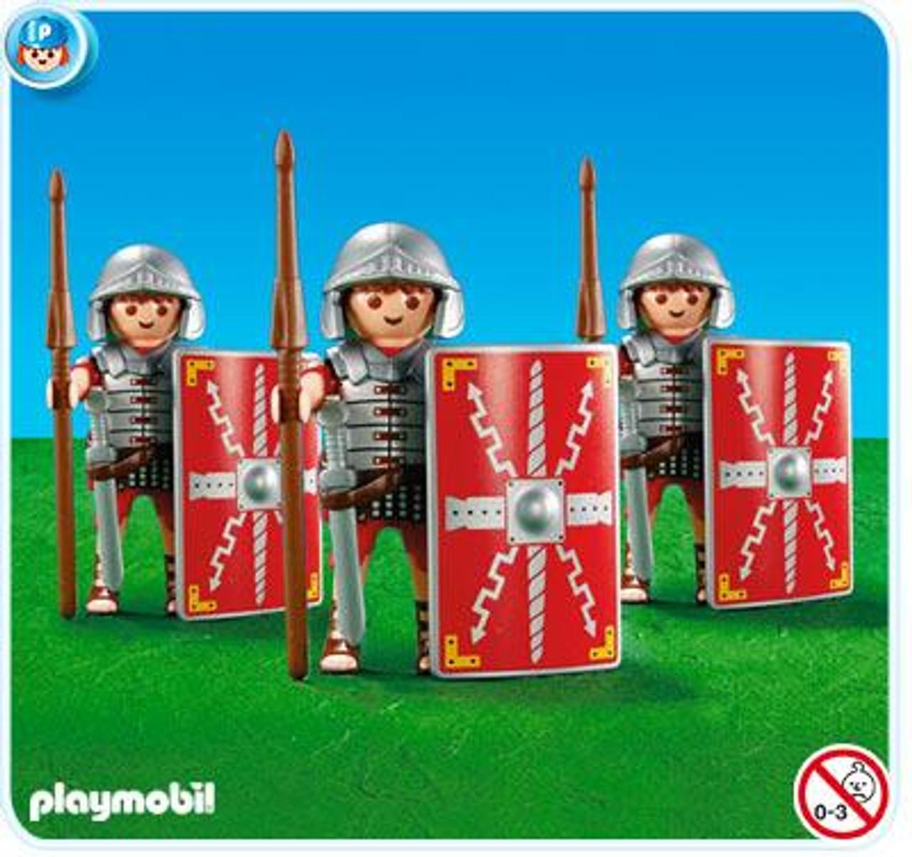 Playmobil Romans & Egyptians 3 Legionnaires Set #7878